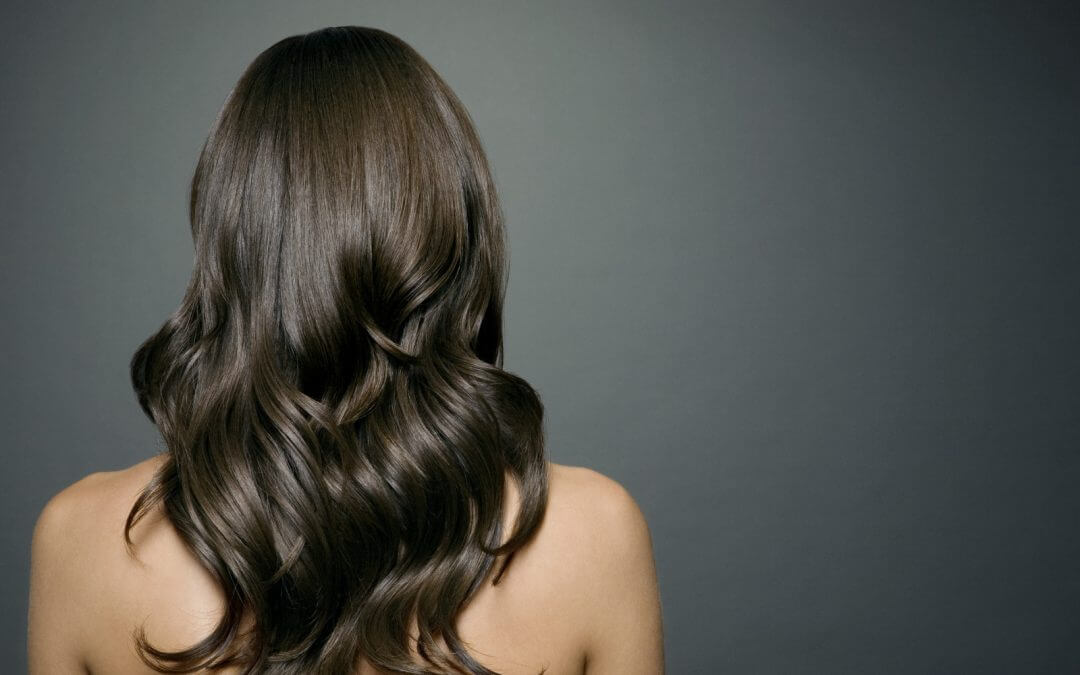 healthy hair in women