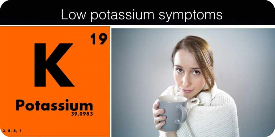 Symptoms Of Low Potassium