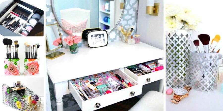 Makeup-organizing ideas for small spaces